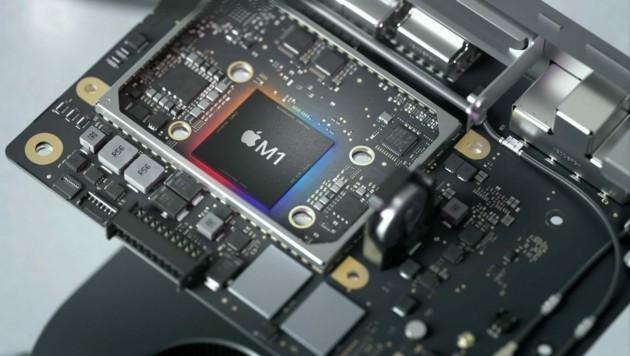 Beim iPhone und iPad sind sparsame ARM-Prozessoren seit Jahren im Einsatz, im Herbst wechselte Apple mit dem M1 auch bei Notebooks und dem Mac Mini auf ARM. (Bild: Apple)