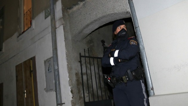 Der Tatort in der Lilienthalgasse in Graz-Eggenberg. (Bild: Christian Jauschowetz)