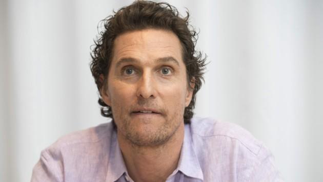 Matthew McConaughey (Bild: Sundholm,Magnus / Action Press / picturedesk.com)