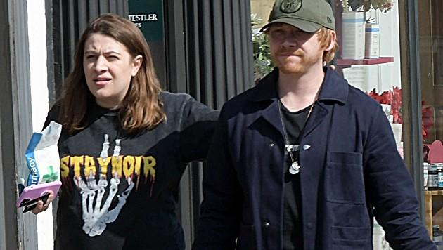 Rupert Grint mit Georgina Groome (Bild: www.photopress.at)