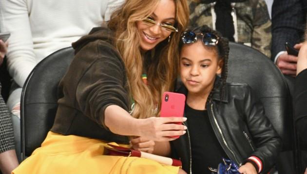Beyonce mit Tochter Blue Ivy (Bild: 2018 Getty Images)