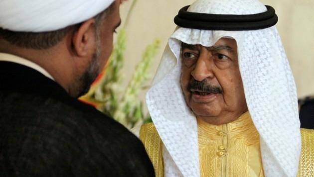 Scheich Khalifa bin Salman al-Khalifa ist tot. (Bild: AP)