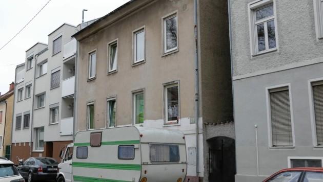 Das Haus in der Lilienthalgasse in Graz-Eggenberg (Bild: Christian Jauschowetz)
