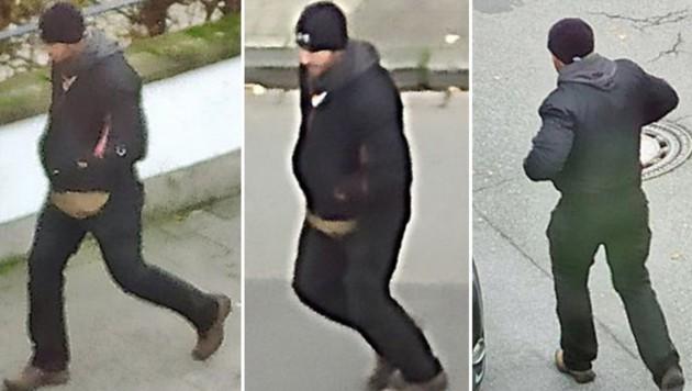 Die Polizei veröffentlichte am MIttwoch Fotos eines Tatverdächtigen. (Bild: Polizei NRW KLE)