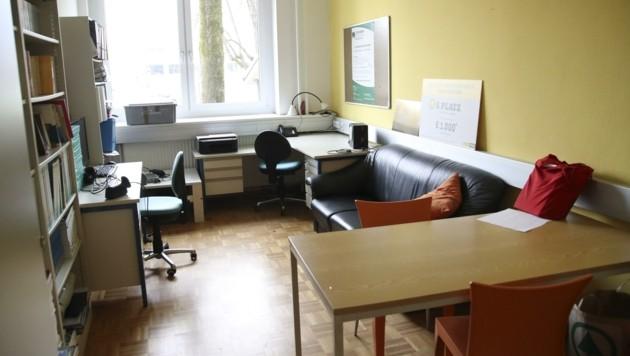 Zweiter Stützpunkt der mobilen Rot-Kreuz-Teams ist dieser Raum im BORG Nonntal. (Bild: Tröster Andreas)