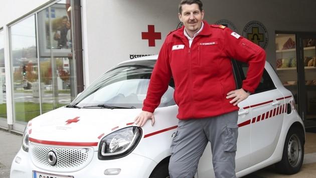 Das Rote Kreuz ist ab 16. November mit zwei mobilen Test-Teams im Corona-Einsatz. (Bild: Tröster Andreas)