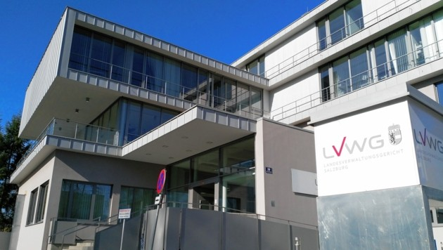 Landesverwaltungsgericht in Salzburg (Bild: Grill Max/Kronenzeitung)