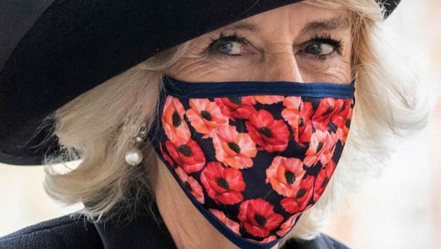 Herzogin Camilla hat mit 73 Jahren ihren Mode-Mut entdeckt und wird dafür gefeiert. (Bild: AP)