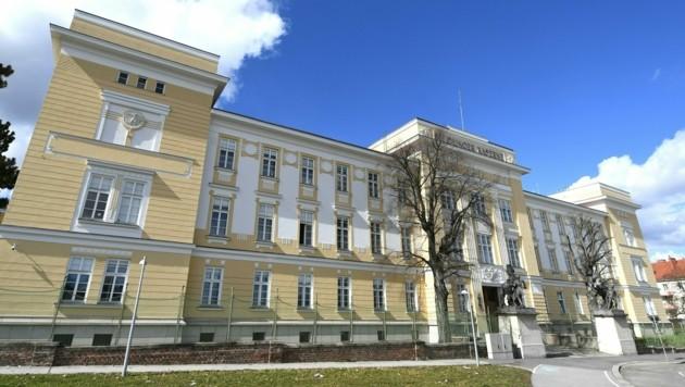 Die Meidlinger Kaserne in Wien (Bild: APA/HELMUT FOHRINGER)