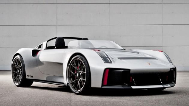 Porsche Vision Spyder, 2019 (Bild: Porsche)
