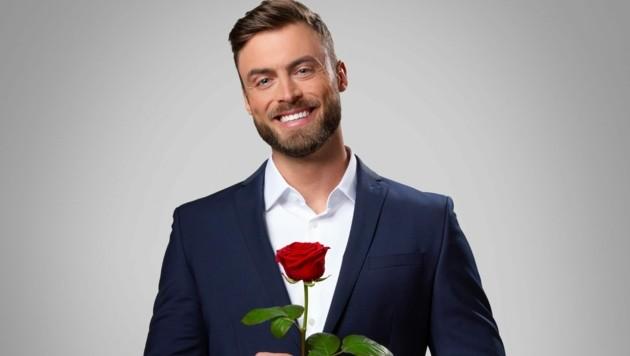 "Niko Griesert ist der neue ""Bachelor"". (Bild: TVNOW / Ruprecht Stempell)"
