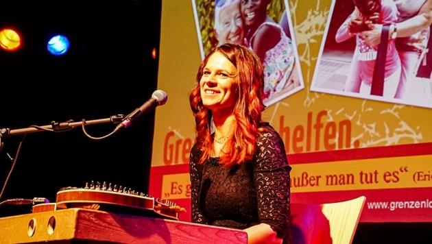 Musikerin Sabine Gruber. (Bild: Elmar Mayr)