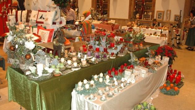 Der Walser Adventsmarkt für Kunsthandwerk findet heuer virtuell statt. (Bild: Die Bachschmiede)
