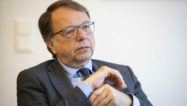 Rektor Lehnert will jetzt das Gespräch mit der ÖH suchen. (Bild: Neumayr Fotografie - Christian L)