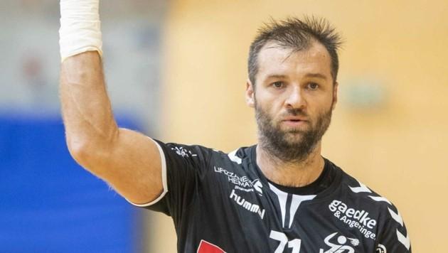 Bärnbach/Köflach-Handballer Klemen Cehte (Bild: GEPA pictures/ Wolfgang Jannach)