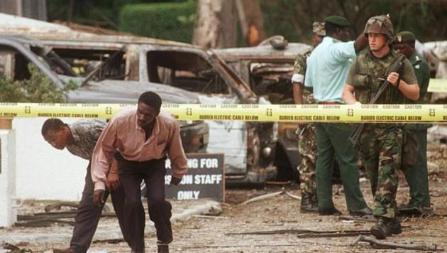 Der Vizechef der Al-Kaida soll für die Bombenanschläge auf zwei US-Botschaften in Afrika 1998 verantwortlich sein. (Bild: AFP/AMR NABIL)