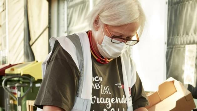 Viele freiwillige Helfer gehören aufgrund ihres Alters der Risikogruppe an. (Bild: Thomas Topf)