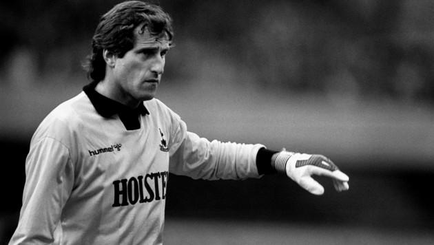 Ray Clemence, im Jahr 1985 im Dress von Tottenham (Bild: ASSOCIATED PRESS)