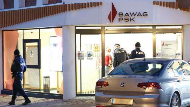Banküberfall in Saalfelden ist geklärt. (Bild: Roland Hölzl)