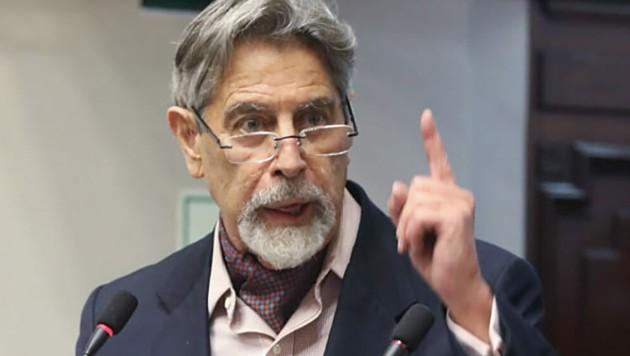 Francisco Sagasti soll es nun in Peru richten. (Bild: APA/AFP/Peruvian Congress)