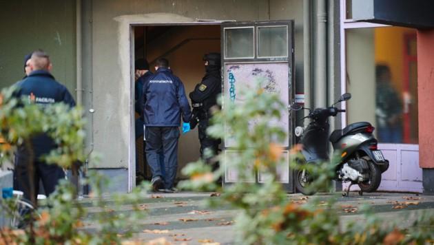 Knapp ein Jahr nach dem Kunstdiebstahl im Dresdner Grünen Gewölbe hat die Polizei am Dienstagmorgen in Berlin drei Tatverdächtige festgenommen. (Bild: APA/dpa/Annette Riedl)