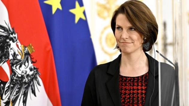 Europaministerin Karoline Edtstadler (Bild: APA/Herbert Neubauer)