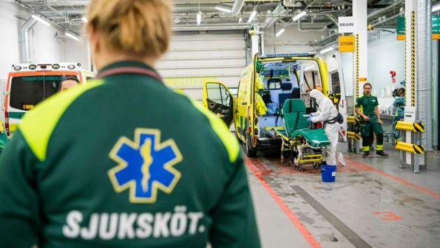 Schwedisches Krankenhaus (Bild: AFP)