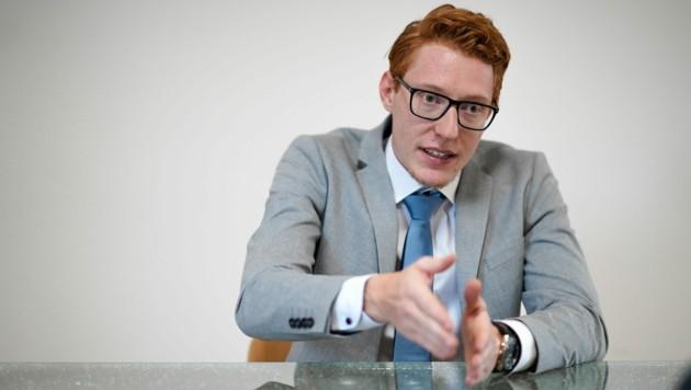 Julian Scherzenlehner ist seit Februar 2019 Geschäftsführer des Familienunternehmens. (Bild: Markus Wenzel)