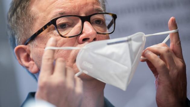 Gesundheitsminister Rudolf Anschober (Grüne) (Bild: APA/GEORG HOCHMUTH)
