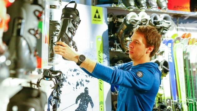Fabio Kerschbaumer bereitet sich für die Saison weiter vor (Bild: Gerhard Schiel)