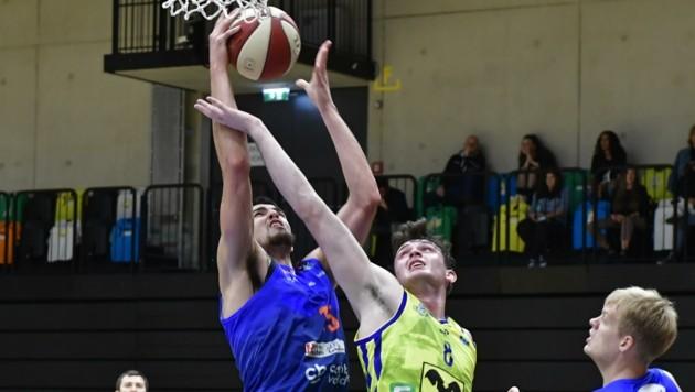 Das Basketball-Derby zwischen Kapfenberg und UBSC Graz wurde coronabedingt verschoben (Bild: Heintz Richard)