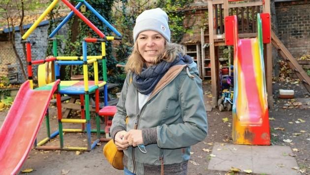 Ulrike Neumann, Leiterin eines Privatkindergartens, hat volles Verständnis für alle Eltern, die ihre Kinder zur Betreuung bringen. (Bild: Peter Tomschi)