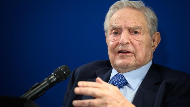 George Soros (Bild: APA/AFP/FABRICE COFFRINI)