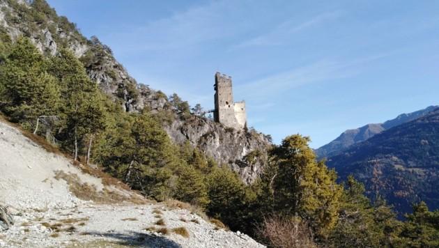 Ruine Schrofenstein (Bild: Peter Freiberger)