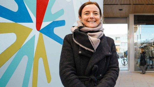 Maria Prims leitet das Einkaufszentrum. (Bild: Markus Wenzel)