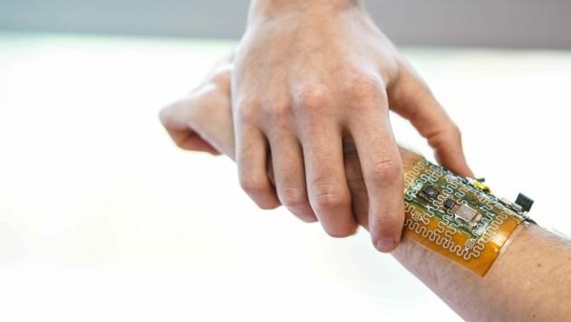 An biologisch abbaubarer Robotik und Elektronik wurde an der Kepler-Uni in Linz geforscht. (Bild: Markus Wenzel)