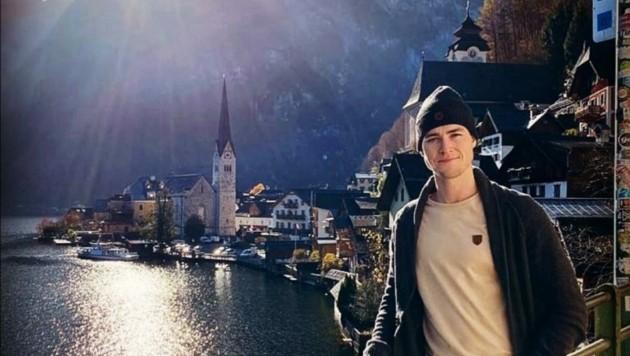 Parker MacKay fühlt sich in Österreich wohl. Wie hier beim Ausflug nach Hallstatt. (Bild: zVg/MacKay)