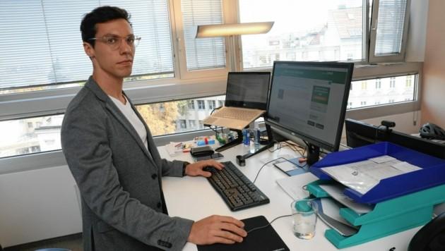 Declan Hiscox ist Betrugsexperte bei der Internet Ombudsstelle. (Bild: Jöchl Martin)
