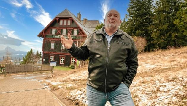 Hannes Kogler, Bürgermeister von St. Radegund bei Graz (Bild: Sepp Pail)