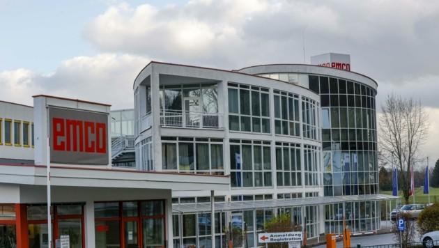 Emco in Hallein hat 365 seiner insgesamt 400 Mitarbeiter zur Kurzarbeit angemeldet. (Bild: Tschepp Markus)