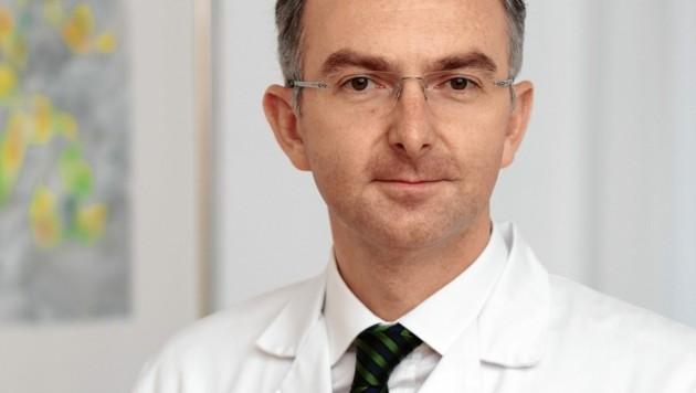 Bernd Lamprecht, Vorstand des Linzer Kepler Universitätsklinikums für Lungenheilkunde (Bild: Zeljko Jakovljevic)