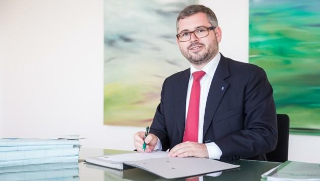 Mobilitätslandesrat Ludwig Schleritzko (Bild: Fotograf und Fee)