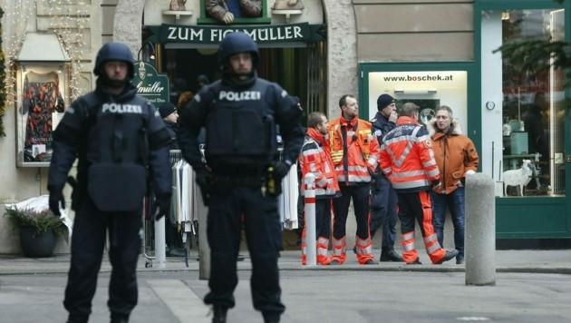 Mafia-Attentat in Wien (Bild) vor mehr als zwei Jahren (Bild: Reinhard Holl)