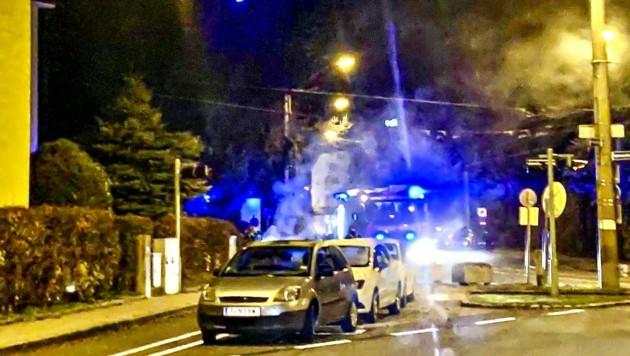 Nächster Mülltonnen-Brand in der Stadt Salzburg (Bild: Tschepp Markus)