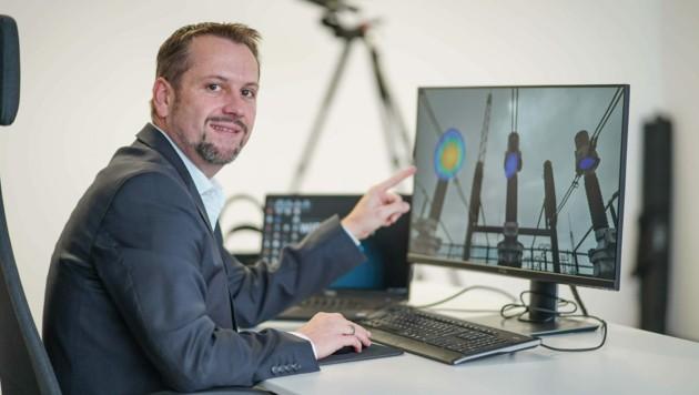 Michael Andessner treibt den Vertrieb der Innovation voran. (Bild: Markus Wenzel)