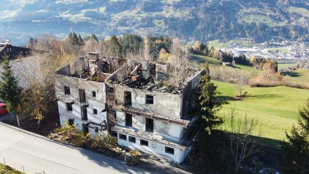 Die Ruine im aktuellen Zustand