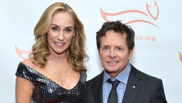 Tracy Pollan und Michael J. Fox (Bild: APA / Noam Galai/Getty Images The Michael J. Fox Foundation/AFP)