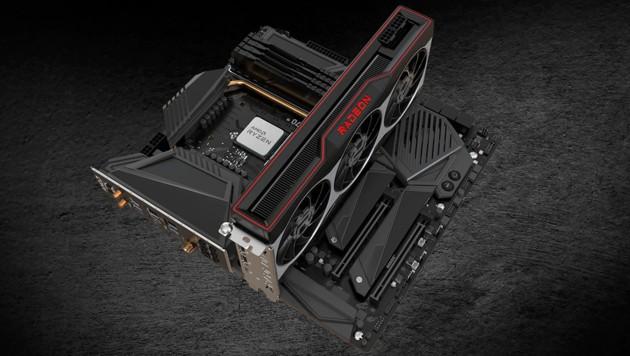 Pfeilschnell, aber kaum zu bekommen: AMDs neue Grafikkarte Radeon RX 6800 XT (Bild: AMD)
