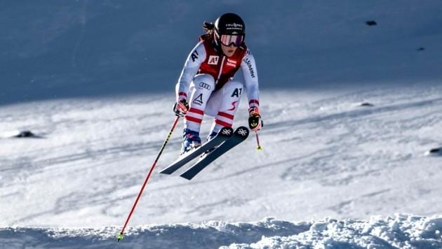 Katrin Ofner setzt in der WM-Saison zu neuen Höhenflügen an. (Bild: Thomas Zangerl)