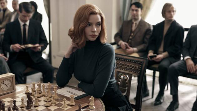 "Beth Harmon (Anya Taylor-Joy) in ""Das Damengambit"" (Bild: © 2020 Netflix, Inc.)"